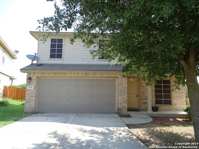 Converse Single Family Home New: 519 Donalan Dr