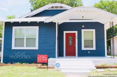 San Antonio Single Family Home New: 709 Cuney Way