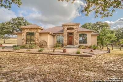 La Vernia Single Family Home Price Change: 260 Legacy Trail Dr
