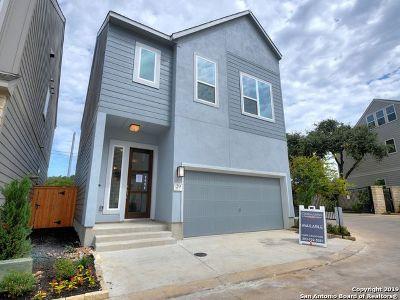 San Antonio Single Family Home New: 7914 Roanoke Run Residence #29
