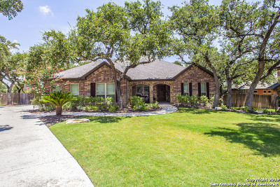San Antonio Single Family Home Price Change: 26814 Adonis Dr