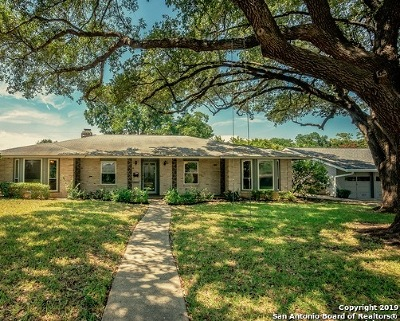 San Antonio Single Family Home New: 3211 Oakleaf Dr