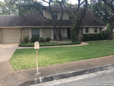 San Antonio Single Family Home New: 2814 Woodcutter Ct