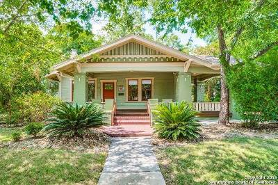 San Antonio Single Family Home New: 1109 W Craig Pl