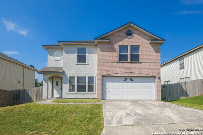 Single Family Home New: 7922 Pecan Heights