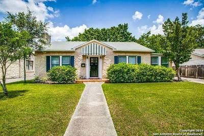 San Antonio Single Family Home New: 223 Thorain Blvd
