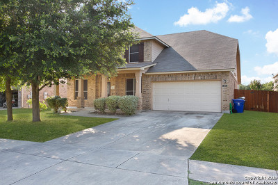 Cibolo Single Family Home New: 104 Lieck Cove
