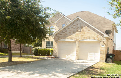 Cibolo Single Family Home New: 104 Bison Ln