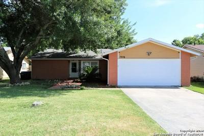 San Antonio Single Family Home New: 7938 Forest Fox St