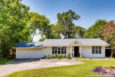 San Antonio Single Family Home New: 433 Rittiman Rd