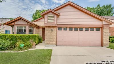 San Antonio Single Family Home Price Change: 6243 Broadmeadow