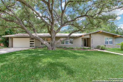 San Antonio Single Family Home New: 407 Cave Ln