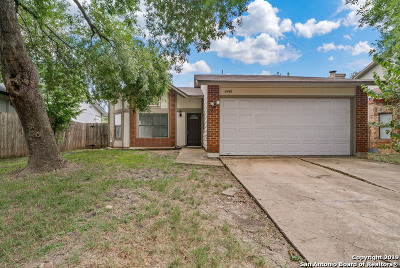 San Antonio Single Family Home New: 8446 Maple Ridge Dr