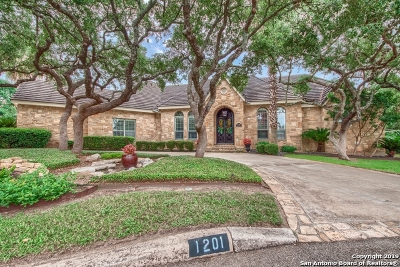 San Antonio Single Family Home New: 1201 Evening Glen
