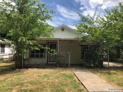 San Antonio Single Family Home New: 4019 San Fernando St