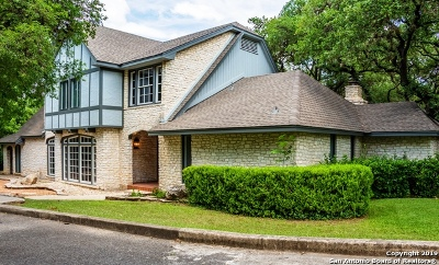 San Antonio Single Family Home New: 1639 Lockhill Selma Rd