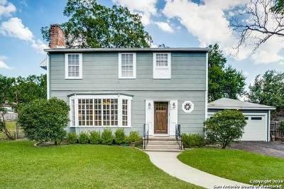 Terrell Hills Single Family Home For Sale: 404 Garraty Rd