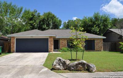 San Antonio Single Family Home New: 9731 Hidden Ledge