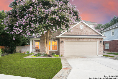 San Antonio Single Family Home New: 4410 Amandas Cove