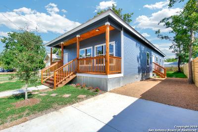 San Antonio Single Family Home New: 1614 Nolan St