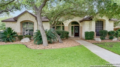 Helotes Single Family Home Active Option: 13606 French Park