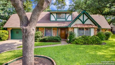 San Antonio Single Family Home New: 5503 King Richard St