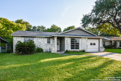 San Antonio Single Family Home New: 4752 Casa Bello St
