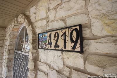 San Antonio Single Family Home New: 4219 Bloomdale