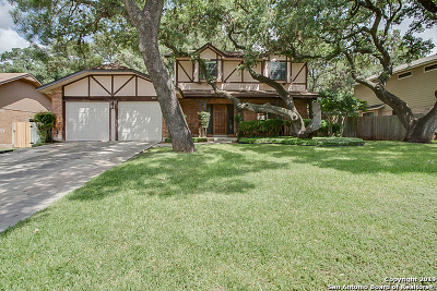 San Antonio Single Family Home New: 9015 Brickwood