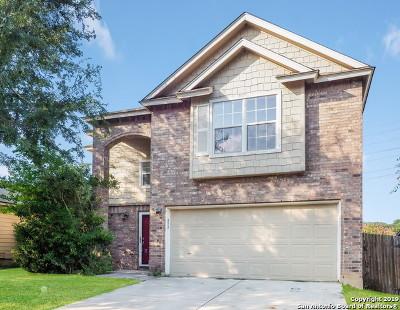 San Antonio Single Family Home New: 10914 Indigo Creek