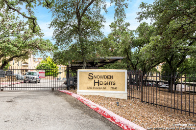 San Antonio Condo/Townhouse New: 7323 Snowden Rd #2302