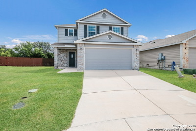 San Antonio Single Family Home New: 25230 Judson Bend