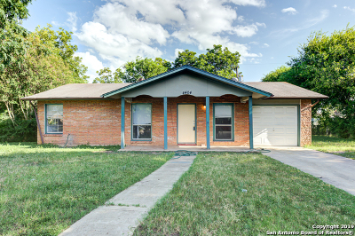 San Antonio Single Family Home New: 4404 Hampstead St