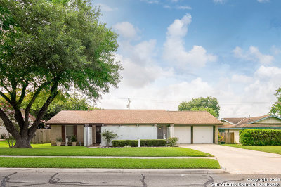 Live Oak Single Family Home New: 7708 Grass Hollow St