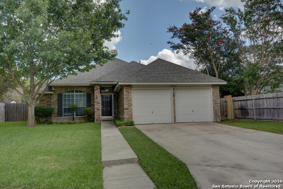 Converse Single Family Home New: 10706 Coyote Hill