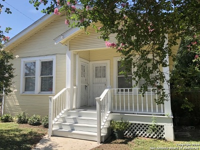 San Antonio Single Family Home New: 3043 W Houston St