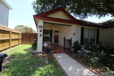 San Antonio Single Family Home New: 810 Cougar Country