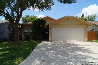 San Antonio Single Family Home New: 7935 Wayside Trail