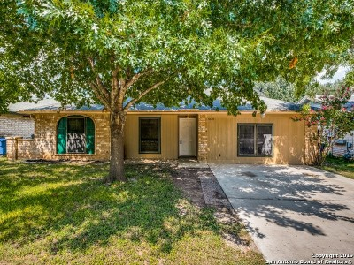 San Antonio Single Family Home New: 4618 Canterbrook