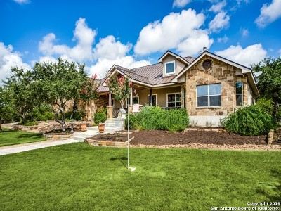 Boerne Single Family Home New: 22 Outlook Pt