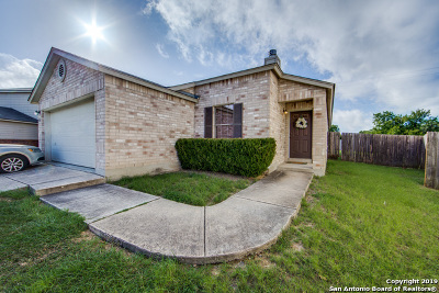 Bexar County Single Family Home New: 11114 Armor Arch