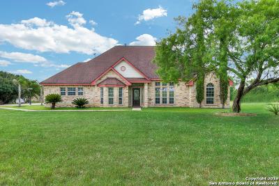 Adkins Single Family Home New: 8867 E Loop 1604 S