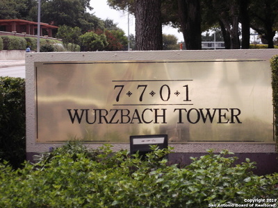 San Antonio Condo/Townhouse New: 7701 Wurzbach Rd #1906