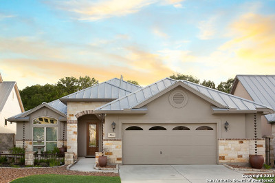 Boerne Single Family Home New: 216 Well Springs
