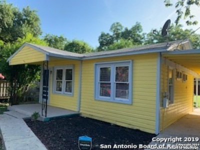 San Antonio TX Single Family Home Back on Market: $74,900