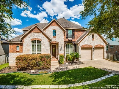 Stone Oak Single Family Home Active Option: 25726 Peregrine Ridge