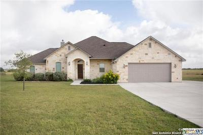 Guadalupe County Single Family Home New: 208 Kimbrough Rd