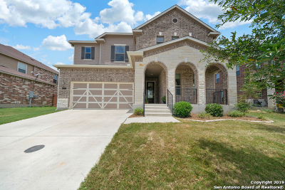 Boerne Single Family Home New: 112 Red Bud
