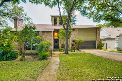 San Antonio Single Family Home New: 13404 Vista Del Rey