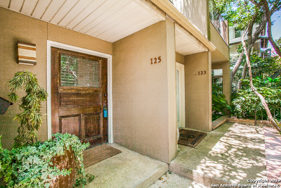 Alamo Heights Condo/Townhouse For Sale: 125 St Dennis Ave #125